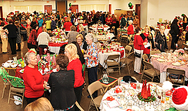 Photo from last year's holiday tea. Courtesy of Friends of East County Arts, ...