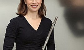 A photo of musician Catherine Ransom Karoly, courtesy of La Jolla Music Society.