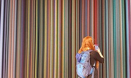 A photo of the Sweet Spot installation by Causey Daniell Studio.