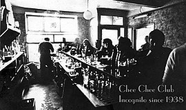 Promotional graphic for the Chee-Chee Club