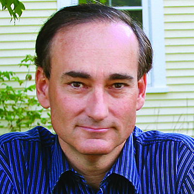 "Promotional photo of Chris Bohjalian, author of ""The Sandcastle Girls."""