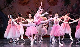 "A photo of ""The Nutcracker,"" courtesy of City Ballet of San Diego."
