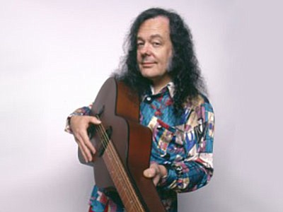 Promotional photo of David LIndley. Courtesy of the Belly...
