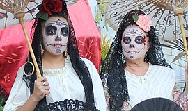 Promotional photo of previous Dia De Los Muertos event. Courtesy of Old Town ...