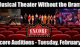 Promotional photo for Encore Vocal Ensemble auditions.