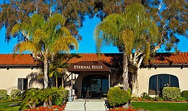 Promotional photo of Eternal Hills exterior. Courtesy of Eternal Hills.