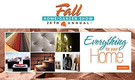 Promotional graphic for the Fall Home Garden Show.
