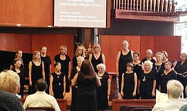 Photo of the First Unitarian Universalist Church of San Diego Women's Chorus ...