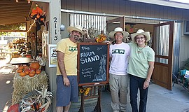 Promotional photo for the Fall Harvest Festival & Boutique at Farm Stand West