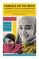 Promotional graphic for the Families On The Move Community Conversation. Cour...
