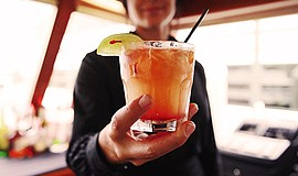 Promotional photo for the Summer Cocktail Cruise. Courtesy of Flagship Cruise...