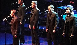 Frankie Valli and The Four Seasons perform.