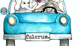 "Promotional graphic for ""fulcrum."" Courtesy of Phillip Magin."
