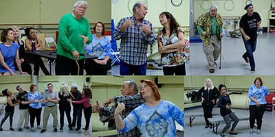 "Promotional photo montage for ""The Geeze & Me."" Photo credit: Ken Jacques. Courtesy of Susan J. Farese, SJF Communications"