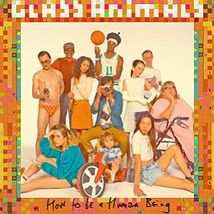 An promotional illustration of Glass Animals, courtesy of Humphreys.