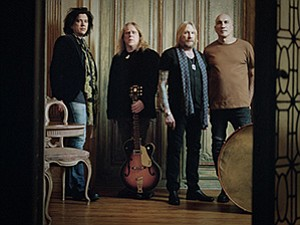A photo of the band Gov't Mule, courtesy of Humphreys.