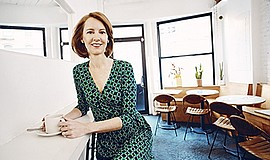 Promotional photo of Gretchen Rubin. Photo by Andy Ryan