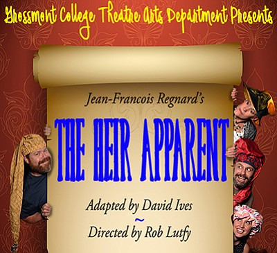 "Promotional graphic for ""The Heir Apparent."" Courtesy of ..."