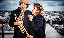 Promo graphic for Herb Alpert & Lani Hall Live At The B...