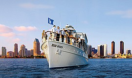 Promotional photo for the Sunday Barefoot Music Cruise. Courtesy of Hornblowe...