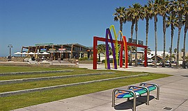 Portwood Pier Plaza, Imperial Beach. Courtesy of the Port of San Diego.