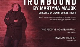 "A promotional poster for ""Ironbound,"" courtesy of Moxie Theatre."
