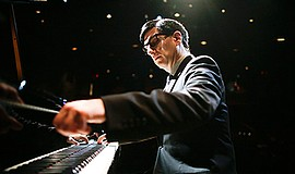 A promotional photo of Hershey Felder as Irving Berlin, courtesy of San Diego...