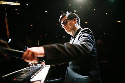 A promotional photo of Hershey Felder as Irving Berlin, courtesy of San Diego Rep.