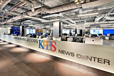 KPBS Joan and Irwin Jacobs News Center.