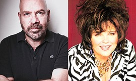 Promotional photo of Jason Stuart and Vicki Barbolak. Courtesy of Martinis Ab...