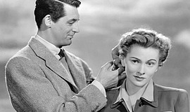 "Joan Fontaine and Cary Grant in ""Suspicion"" (1941)."