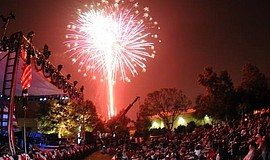 Promotional photo for the annual Independence Day Festival & Fireworks. Court...
