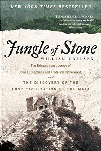 "Promotional photo of book cover for ""Jungle of Stone."" Courtesy of William Morrow Paperbacks."