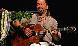 A promotional photo of musician Keali'i Reichel, courtesy of Humphreys.