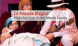 Promotional flyer for La Posada Magica. Courtesy of Hispanic Arts Theatre.