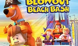 "Promotional graphic for the world premiere of ""LEGO Scooby-Doo! Blowout Beach..."