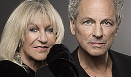 A promotional photo of musicians Lindsey Buckingham and Christine McVie, cour...
