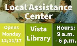 Graphic for Assistance Center At Vista Branch Library