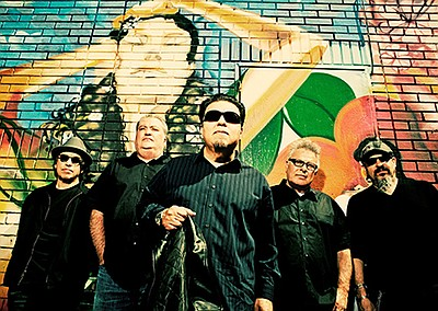 Promotional photo of Los Lobos. Courtesy of Poway OnStage