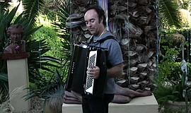 Photo of Lou Fanucchi courtesy of Accordions Rising