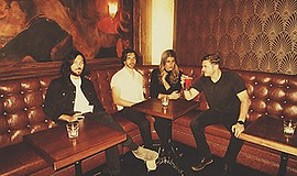A promotional photo of the band Milo Greene.