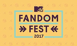 Graphic logo for MTV Fandom Fest