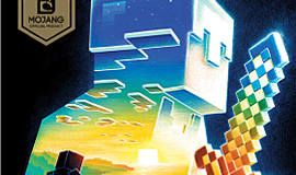 "Graphic cover of ""Minecraft: The Island,"" by Max Brooks"
