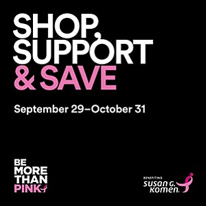 Promotional graphic for the More Than Pink campaign