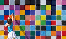 "Promotional photo of ""Favorite Color,"" 2010, located at 7596 Eads Avenue. Cou..."