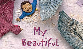 "Graphic cover of ""My Beautiful Birds"" by Suzanne Del Rizzo - the KPBS One Boo..."