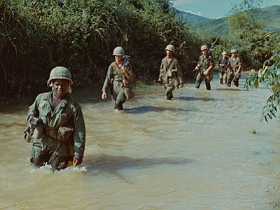 Public Domain Credit: Lyndon B. Johnson Presidential Library, Audiovisual Archives. Join the GI Film Festival San Diego for a free screening featuring selections from THE VIETNAM WAR on Tuesday, May 16, 2017.