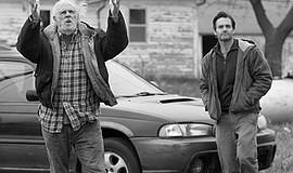 "Scene from the film ""Nebraska."" Courtesy of Paramount Pictures."