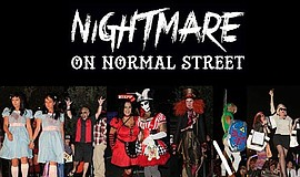 Promotional graphic for Nightmare On Normal Street