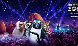 Promotional graphic for Nighttime Zoo, June 18-Sept. 4, 2017. Courtesy of San...